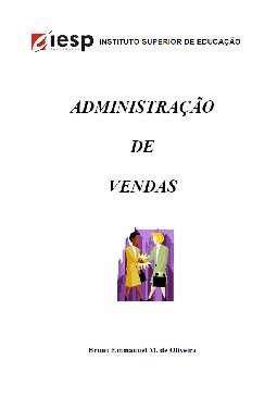 Administração de Vendas - Bruno Emmanuel M. de Oliveira