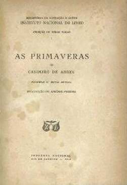 As Primaveras - Casimiro de Abreu