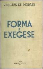 Forma e Exegese - Vinicius de Moraes