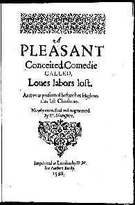 Trabalhos de Amor Perdidos (Love s Labour s Lost) - William Shakespeare