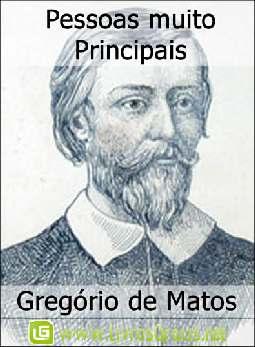 Pessoas muito Principais - Gregório de Matos