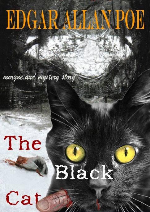 Black Cat Edgar Allan Poe Picture