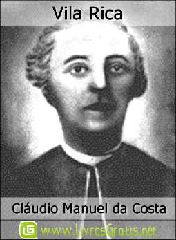 Vila Rica - Cláudio Manuel da Costa